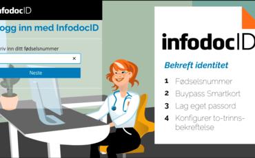 InfodocID - ny innlogging i Infodoc Plenario